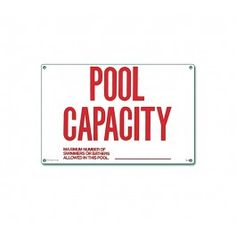 Pool signs are designed to caution swimmers against - Residential swimming pool regulations ...