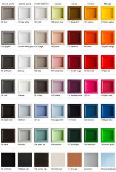 Montana - Colors - Montana Palette