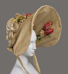 Bonnet | France | 1830 | Museum of Fine Arts, Boston | Accession #: 46.688
