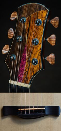 46 Custom Luthier's Headstocks, Saddles or Tailpieces - The Acoustic Guitar Forum
