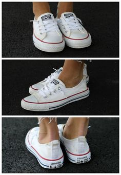 We put six methods of cleaning white Converse to the test! See which methods actually worked and are worth trying on your own!