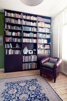 Nice dark Lundia Original Bookshelf