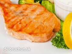 losos na cesnaku Czech Recipes, Ethnic Recipes, Fish And Meat, Meat Recipes, Macaroni And Cheese, Yummy Food, Fit, Czech Food, Gardening
