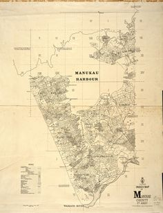 1902. A map of the western half of Manukau County, showing allotments and parish, survey and county boundaries, from the Manukau Harbour to the Waikato River. Sir George Grey Special Collections, Auckland Libraries, NZ Map 4790. George Gray, Allotments, Vintage Maps, Art Portfolio, Auckland, Libraries, New Zealand, The Neighbourhood, Illustrations