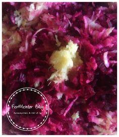 Fermentált kakukkfüves cékla-zeller saláta - FerMentor Blog Zeller, Cabbage, Blog, Meat, Vegetables, Recipes, Recipies, Cabbages, Blogging