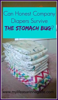 Can Honest Company Diapers Survive the Stomach Bug? - My Life as a Rinnagade homeschool, autism, healthy living