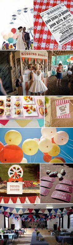 All is Fair in Love and Weddings....A Country Fair Wedding - My Wedding Reception Ideas | Blog