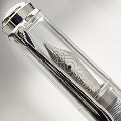 The Pelikan Souverän M805 Clear Demonstrator. The transparent style is a cool contemporary take on a classic. Check out the special pricing now on our site. #fountainpenfriday