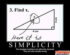 Simplicity is listed (or ranked) 4 on the list The 36 Funniest Demotivational Posters demotivators motivational posters humor poster Funny Motivational Pictures, Funny Pictures, Funny Quotes, Funny Images, Funny Pics, Inspirational Funny, Motivational Monday, Sarcasm Quotes, Clever Quotes