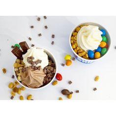 "@funkyfrozenyogurt's photo: ""Sjokolade + nøtter = super digg frozen yogurt topping  #funkyfrozenyogurt #yoghurtis #økologisk #organic #frozenyogurt"""