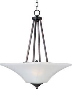 Two Light Invert Bowl Pendant