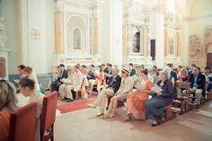 Protestant wedding ceremony in Italy
