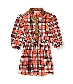 Patty? Copper Key 716 Plaid Dress #Dillards