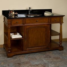 Photo Gallery In Website  Ashford Vanity with White Undermount Sink
