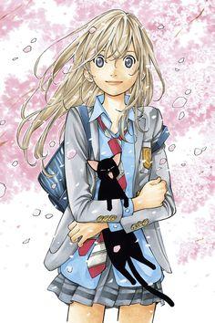 El Manga Shigatsu wa Kimi no Uso de Arakawa Naoshi tendrá película Live-Action en 2016.