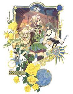 Emilia, Annie, Liza