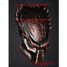 1:1 Full Scale Replica Predator mask, Predator costume, Predator helmet, Home decor, Wall mask, Halloween mask, Steampunk mask AVP PD11