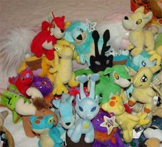 neopets... I still have some somewhere.