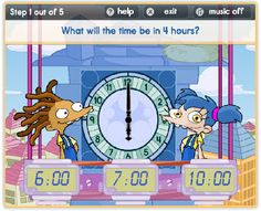 Technology rocks. seriously.: Tick Tock- TIME! Lots of great on-line clock games!