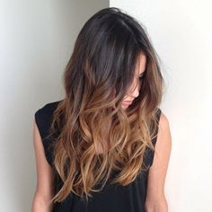 Superbe balayage pour brune balayage cheveux courts