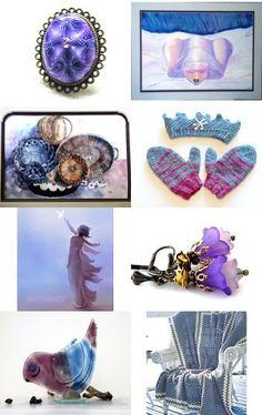LAVENDER BLUE, DILLY, DILLY . . . by Janet Long on Etsy--Pinned with TreasuryPin.com