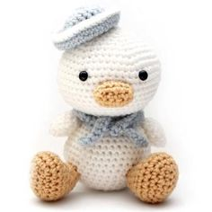Lil Quack the Duck amigurumi pattern by Little Muggles