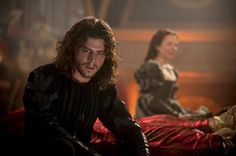 Francois Arnaud as Cesare in The Borgias