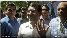 Mohamed Nasheed (first democratically elected president of the Maldives and one of the founders of the Maldivian Democratic Party)