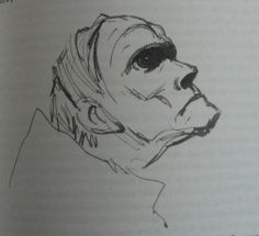 Possibly Lord Sepulchrave, by Peake, from The Illustrated Gormenghast