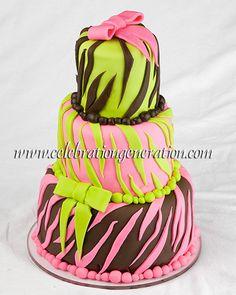 Leopard print diva cake Creations by Cameron Pinterest Diva