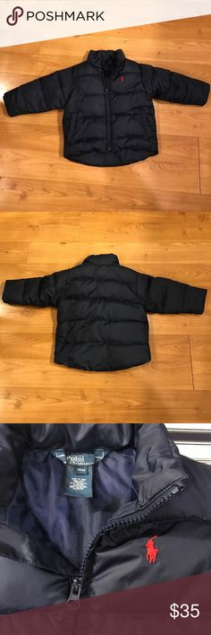Polo by Ralph Lauren Down Jacket Great used condition Ralph Lauren jacket.. my son wore this for one season.. machine wash cold.. please comment with questions Polo by Ralph Lauren Jackets & Coats Puffers