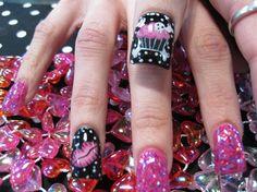 kisses and cupcakes - Nail Art Gallery by nailsmag.com