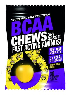 Scitec Nutrition BCAA Chews 1 Beutel = 30 Kautabletten