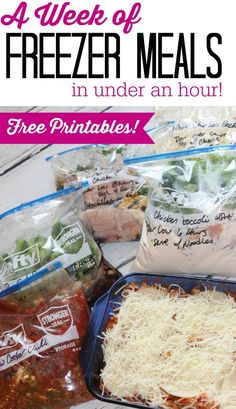 I have a great new list of Freezer Friendly Meals to share with you today! There are so many different Freezer Recipes out there right now and I love trying new recipes!