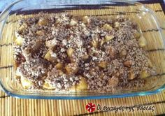 Apple crumble #sintagespareas