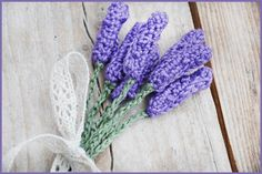 Crochet Lavender with link to tutorial