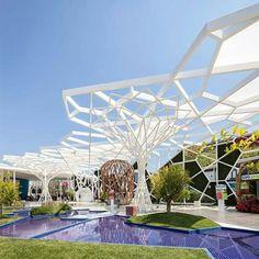 Pavilhão Turquia na Expo Milão do ano passado!
