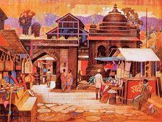 Painting by Ravi Paranjape 1