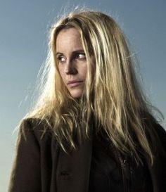 "Sofia Helin plays Saga Norén, hero of ""The Bridge"", , the cooooolist gal on TV."