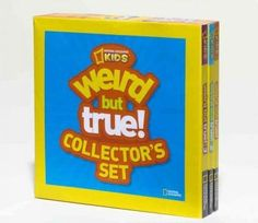 At last, all those weird but true facts that kids love so much are collected in this fun-tastic set of three compact, easy to handle and fun to browse books. Wacky facts, fascinating information, and