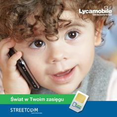 #lycamobile #streetcom #czasnagadanie #swiatwtwoimzasiegu #telefondoprzyjaciela