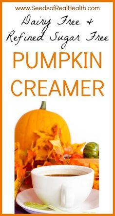Dairy Free Pumpkin Creamer | Seeds Of Real HealthSeeds Of Real Health |
