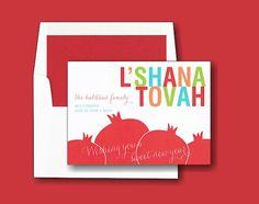jewish new year cards printable