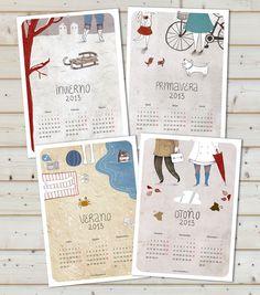 Nuria Díaz - Calendario 2013