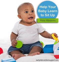 Help your baby learn to sit up independently | Early Intervention Support