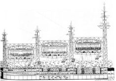 RICHARD ROGERS SKETCH | Richard Rogers | architecture | Pinterest