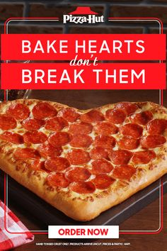 You pick the rom-com, we'll handle the cooking. Order a Heart-Shaped Pizza and throw on a movie for the perfect at-home Valentine's date night. And don't forget to sweeten the deal with a cookie or brownie for dessert. Available until 2/14. Boyfriend Surprises, Surprise Boyfriend, Fresco, Restaurant Recipes, Dinner Recipes, Order Pizza Online, Heart Shaped Pizza, Surprise For Him, Nail Repair