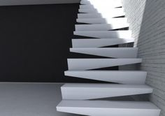 Origami Staircase by Savini, Simone as Creative Director.