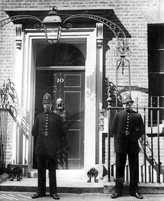 Number 10 Downing Street, London, 1935.