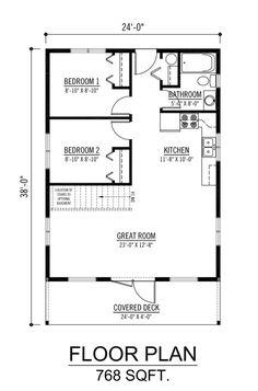 The Cabot - Prefab Cabin and Cottage Plans | Winton Homes